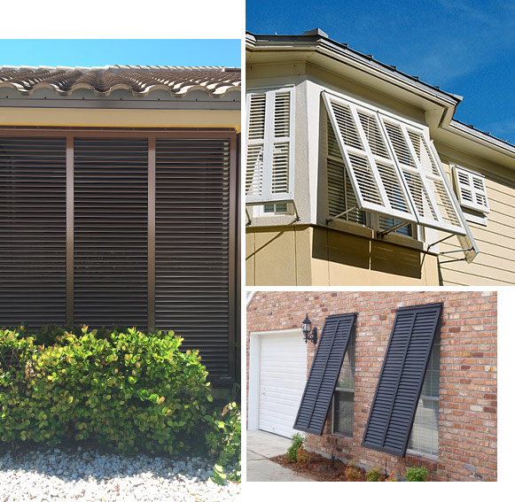 Bahama Shutters Installed, Replaced, and Repaired in SWFL | High Wind Shutters