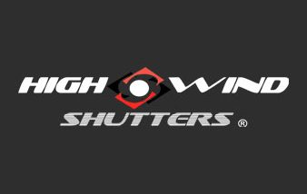 High Wind Shutters Logo | Hurricane Window Protection Southwest Florida