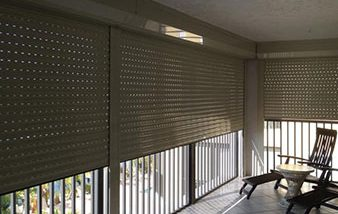 Hurricane Protection Products Roll Down Shutters | High Wind Shutters SWFL