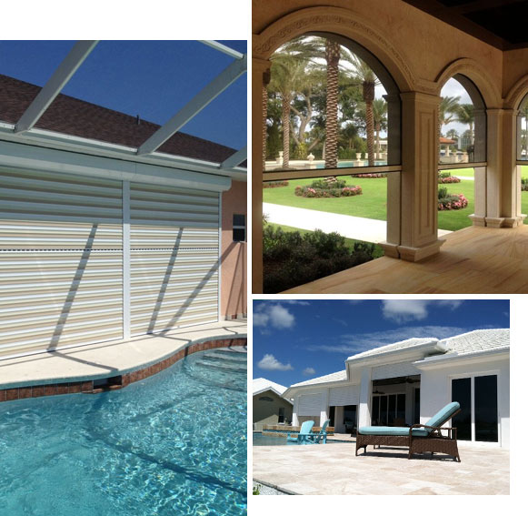 Examples of Roll Down Shutters for Storm Protection and Security | High Wind Shutters